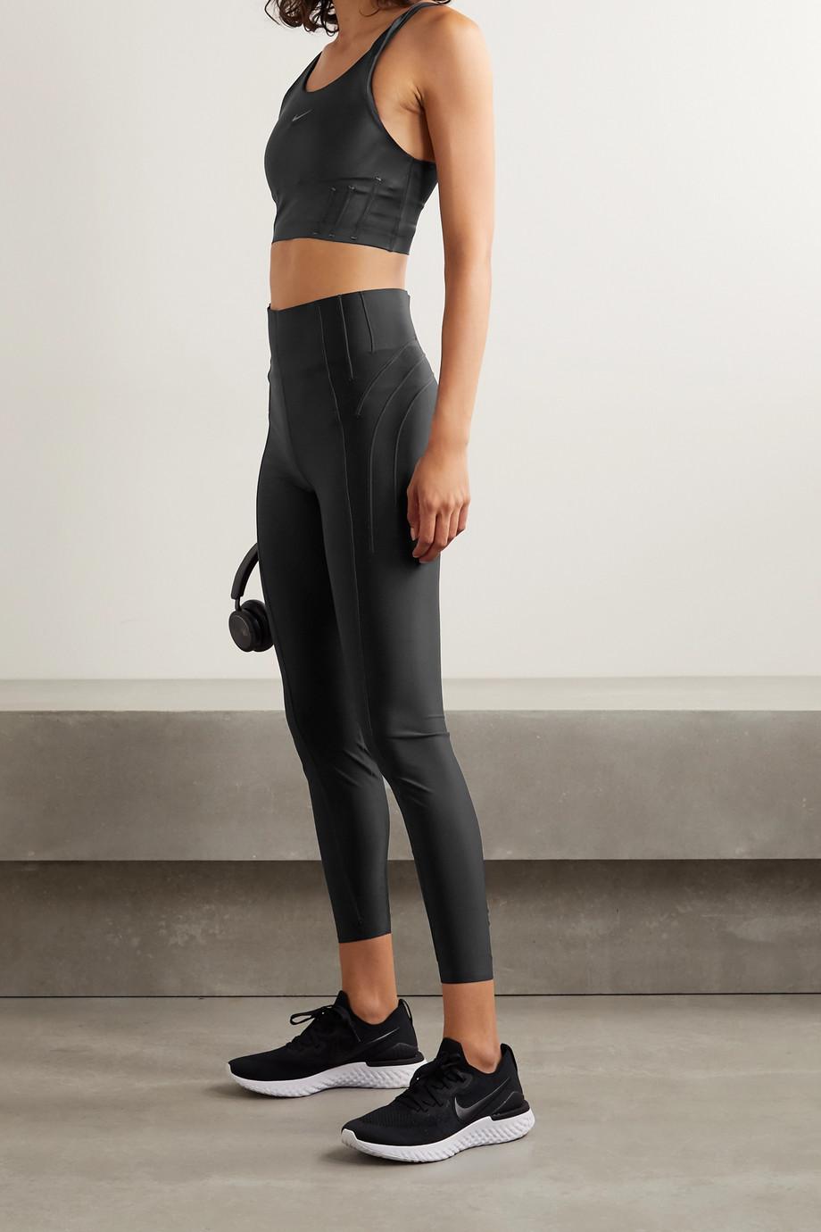 Nike City Ready coated stretch leggings