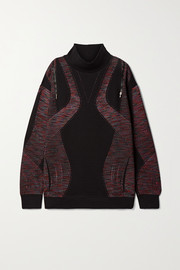 Nike City Ready jacquard-knit turtleneck sweatshirt