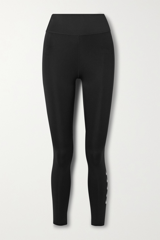 Nike Swoosh Run printed Dri-FIT leggings