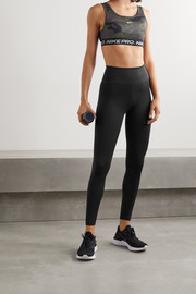 Nike Swoosh Run printed Dri-FIT leggings
