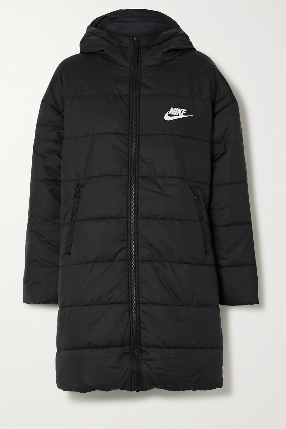 Nike Gesteppter Mantel aus wattiertem Shell mit Kapuze