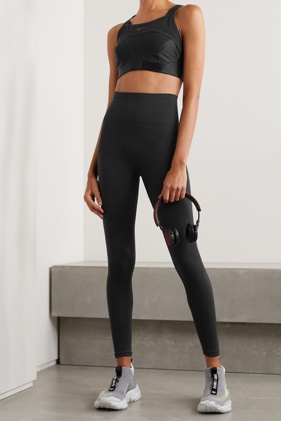 Nike Yoga Seamless Leggings aus Dri-FIT-Stretch-Strick