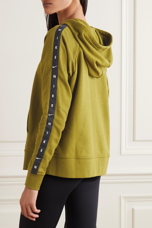 Nike Get Fit Kapuzenjacke aus Dri-FIT-Material aus einer Baumwollmischung