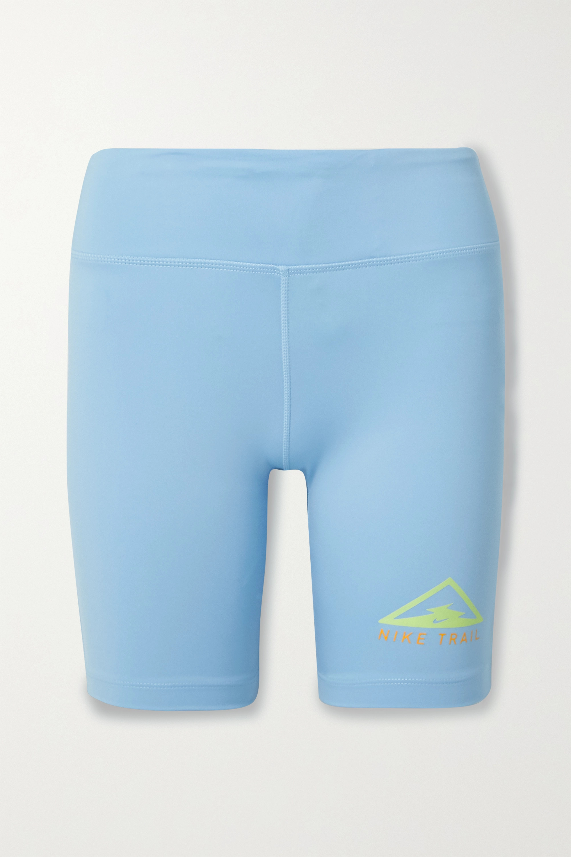 Nike Fast Short Trail bedruckte Shorts aus Dri-FIT-Material