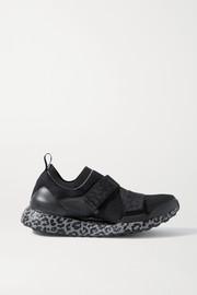 adidas by Stella McCartney UltraBOOST X leopard-print Primeblue stretch-knit sneakers