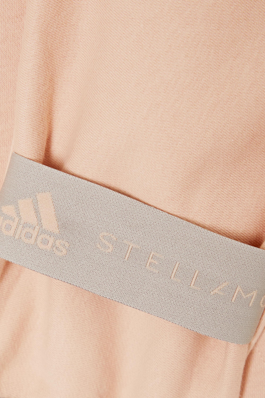 adidas by Stella McCartney Kapuzenjacke aus Jersey aus einer Baumwollmischung