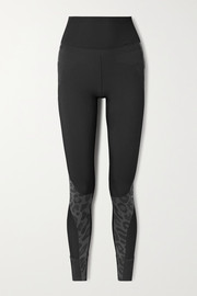 adidas by Stella McCartney Truepurpose stretch-jacquard leggings