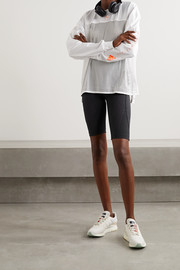 adidas by Stella McCartney Truepurpose perforated stretch shorts