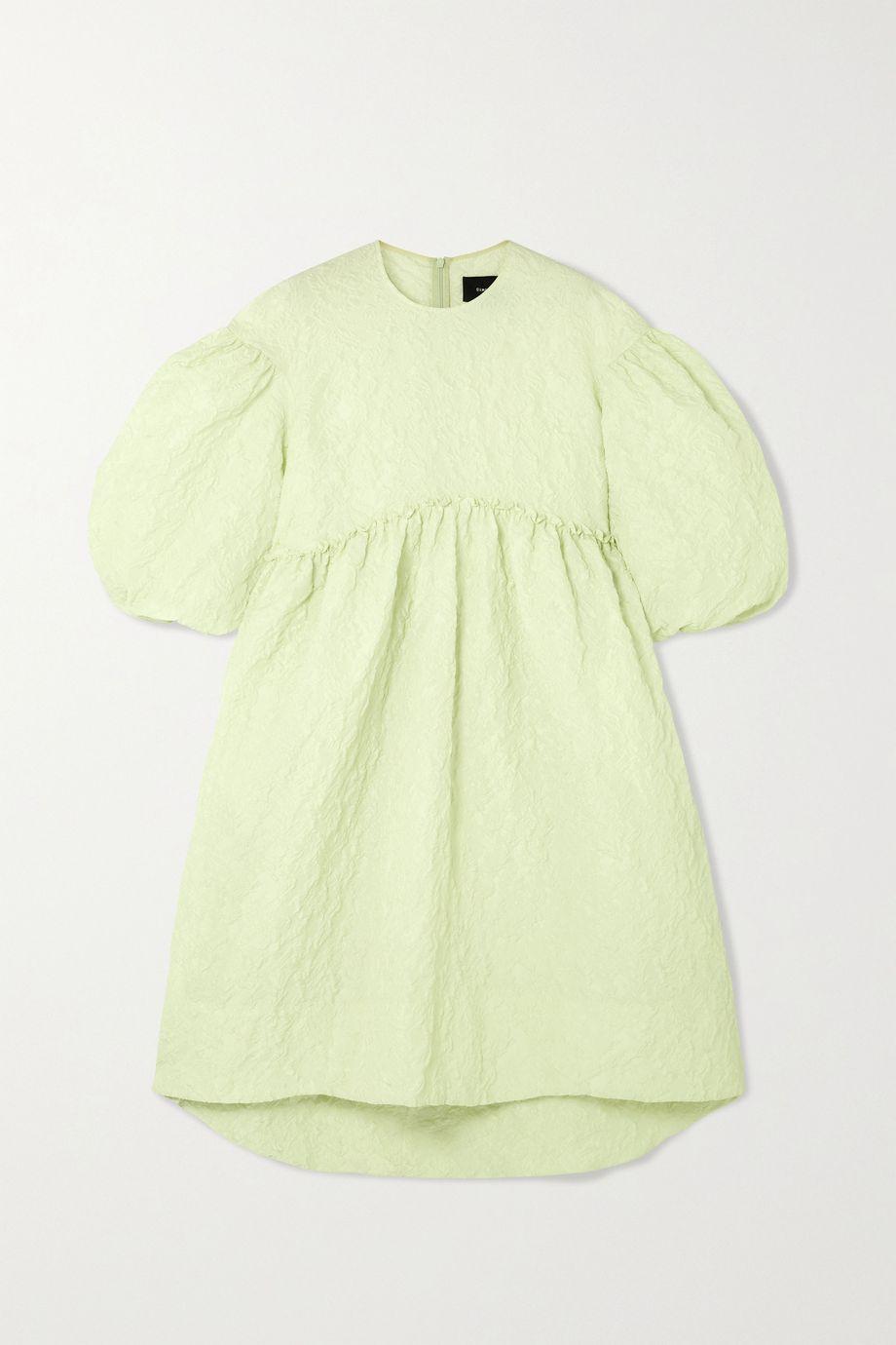 Simone Rocha Ruffled cloqué midi dress