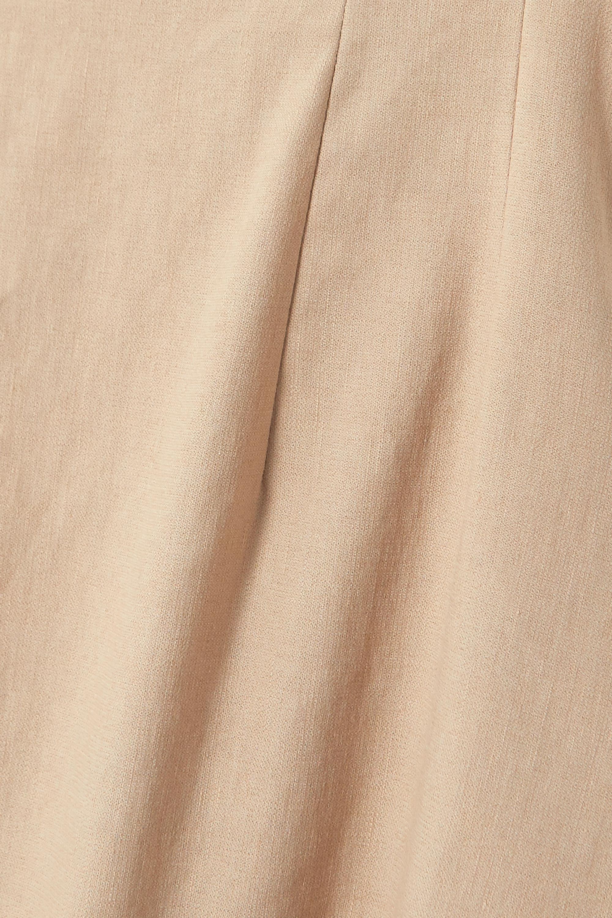 ANNA QUAN Aura linen-blend midi dress