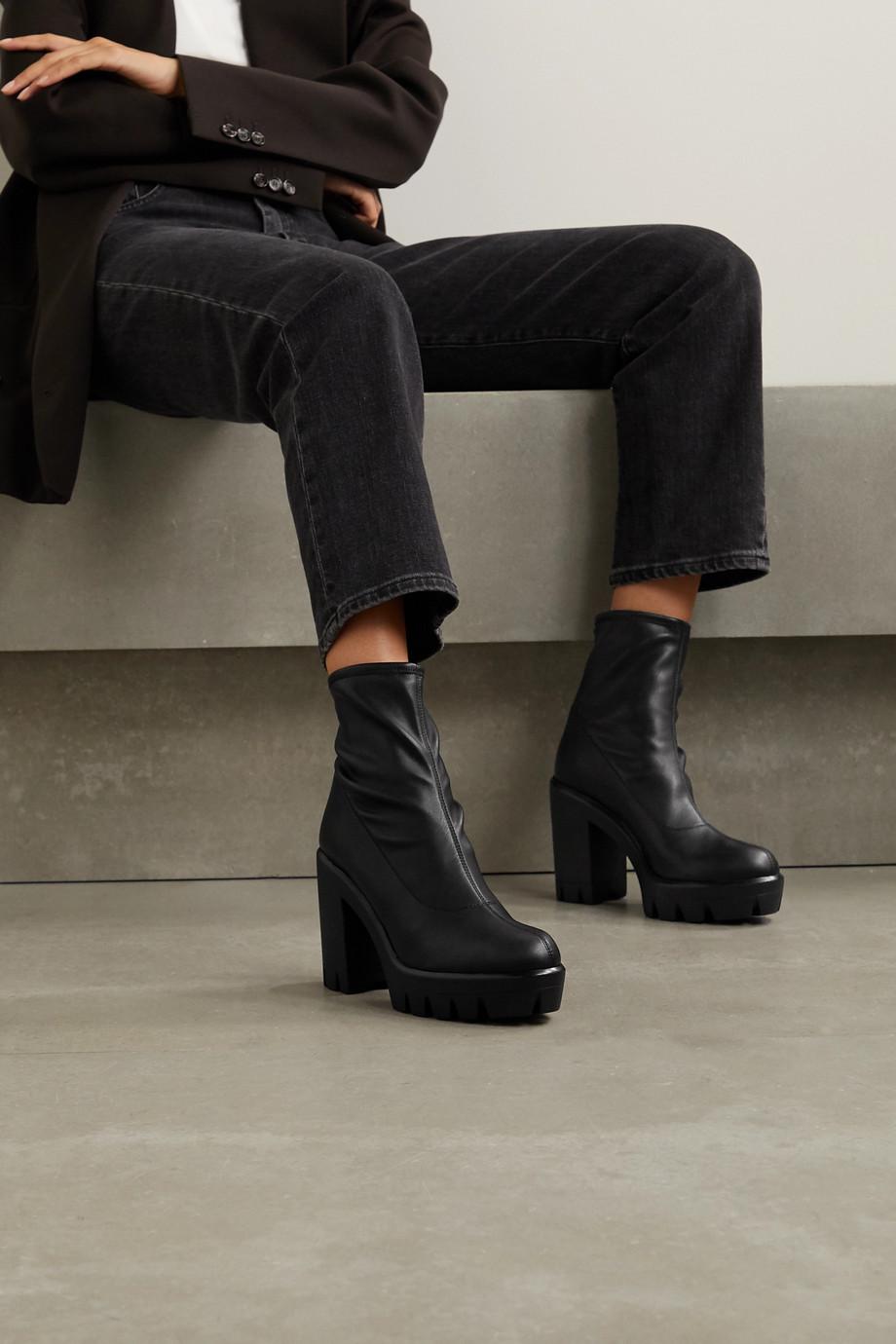 Giuseppe Zanotti Blaze stretch-leather sock boots