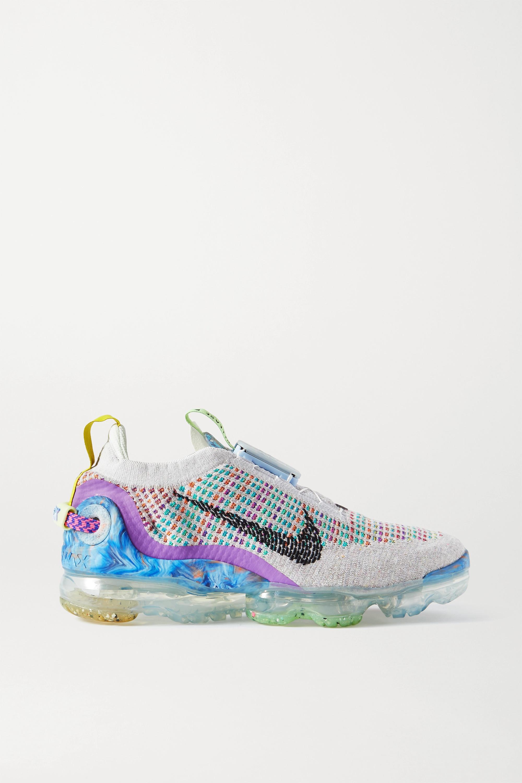 Nike VaporMax 2020 Flyknit Sneakers mit Besätzen aus Canvas und Gummi