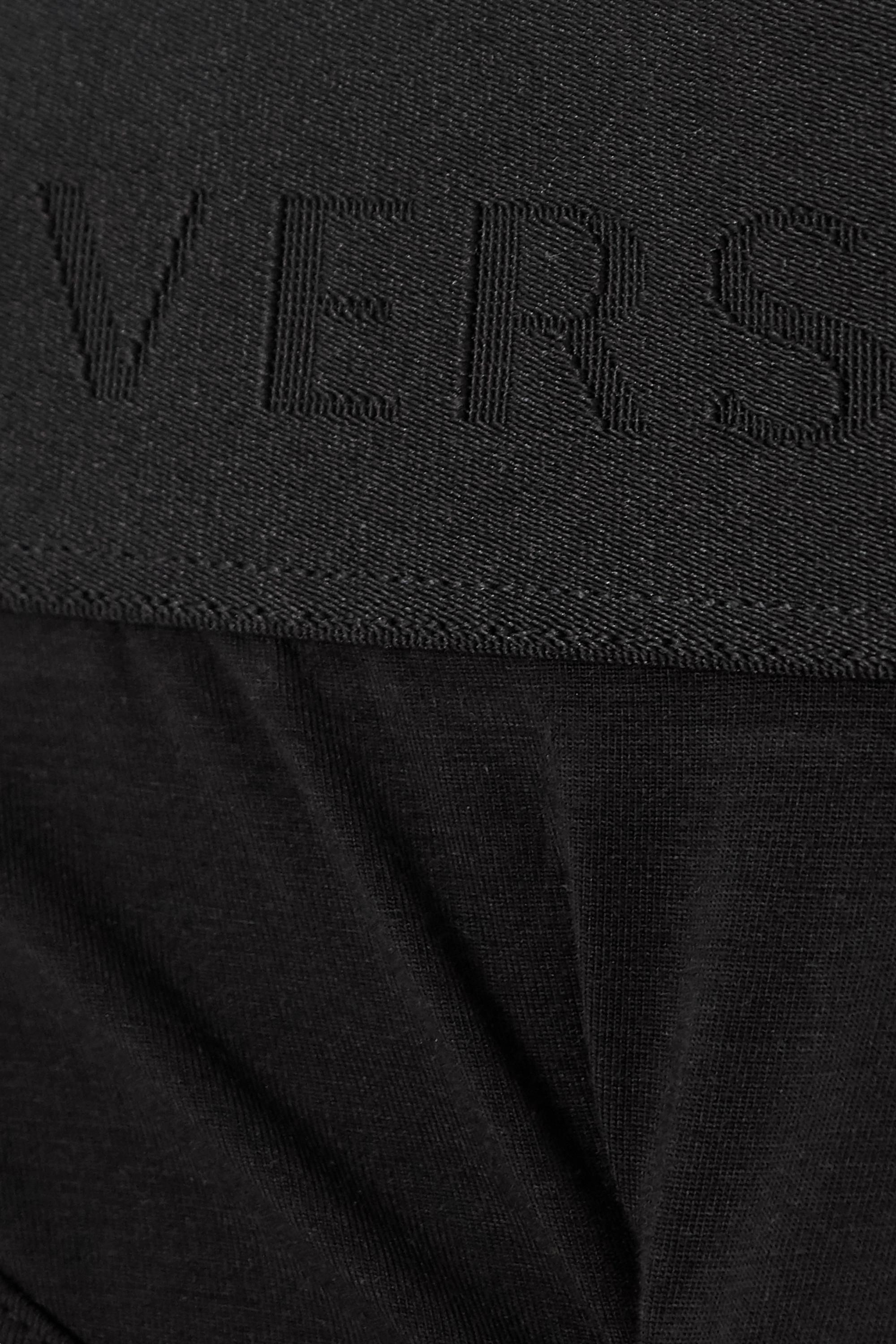 Versace Stretch-modal and silk-blend briefs