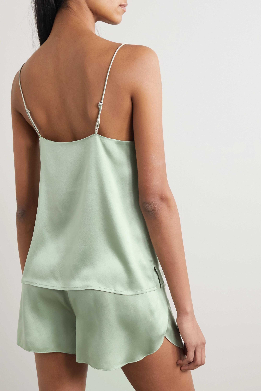 Anine Bing Gwyneth silk-satin camisole