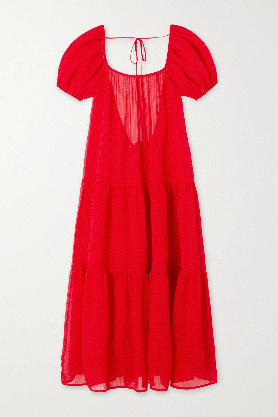 Solid & Striped The Robin tiered voile midi dress