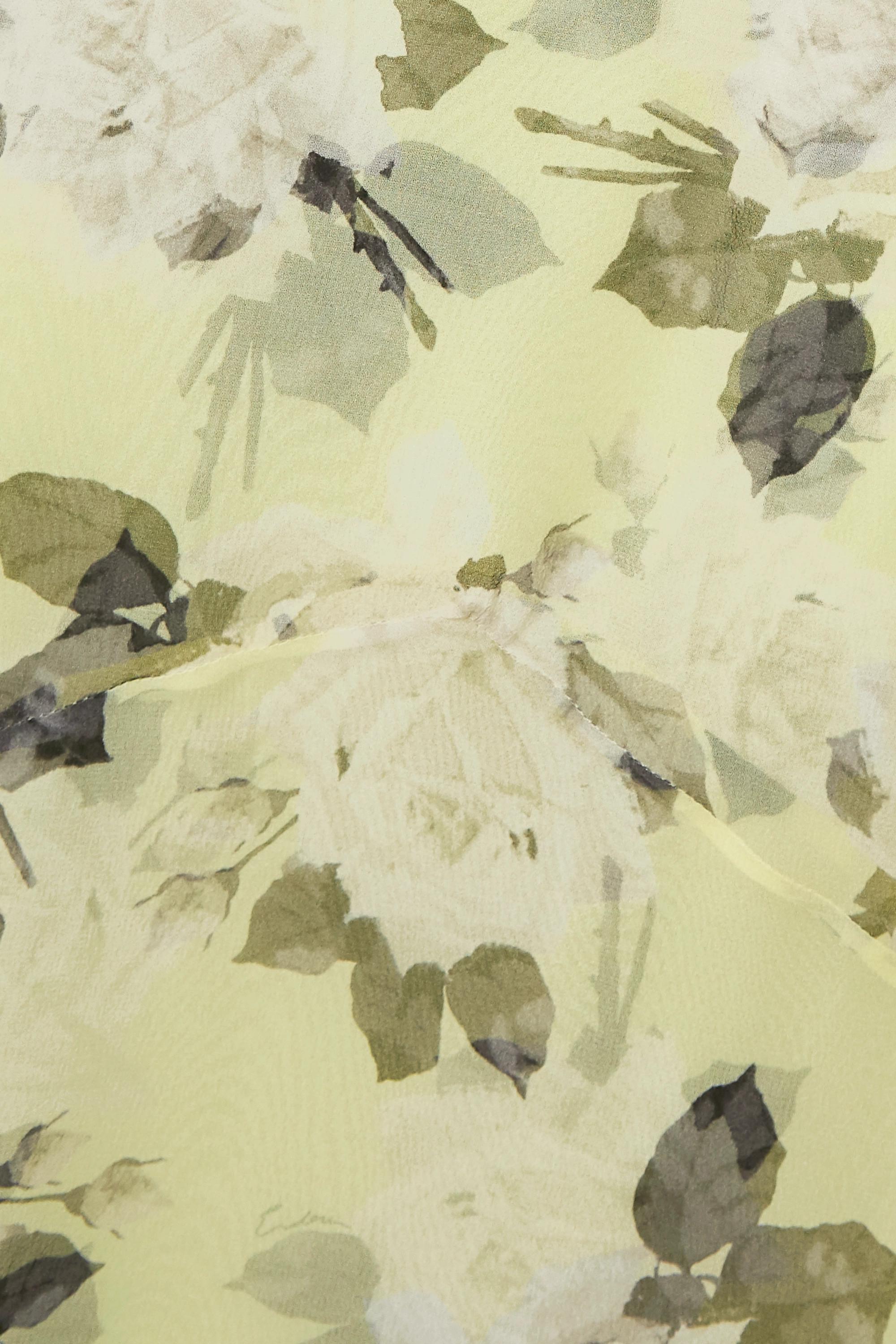 Erdem Shea floral-print silk-chiffon midi skirt