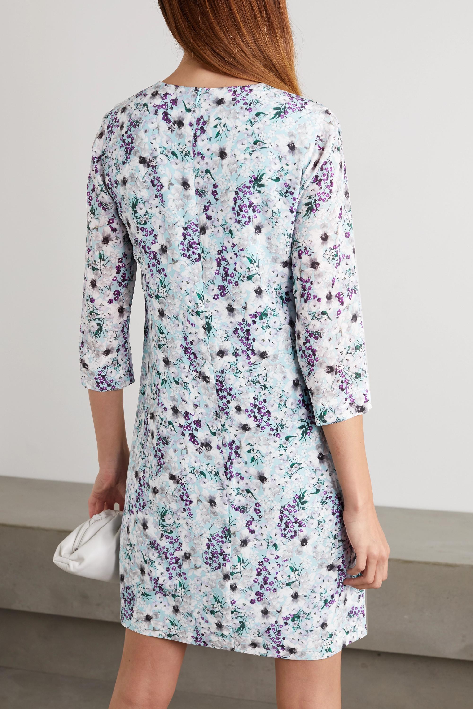 Erdem Emma floral-print silk crepe de chine mini dress