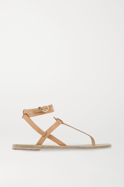 Ancient Greek Sandals Sandales en cuir Estia