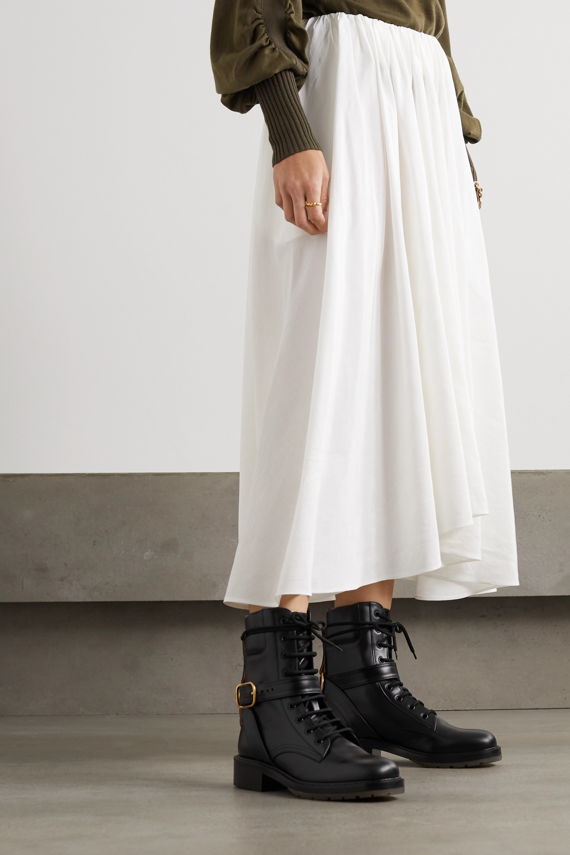 Chloé Diane leather ankle boots