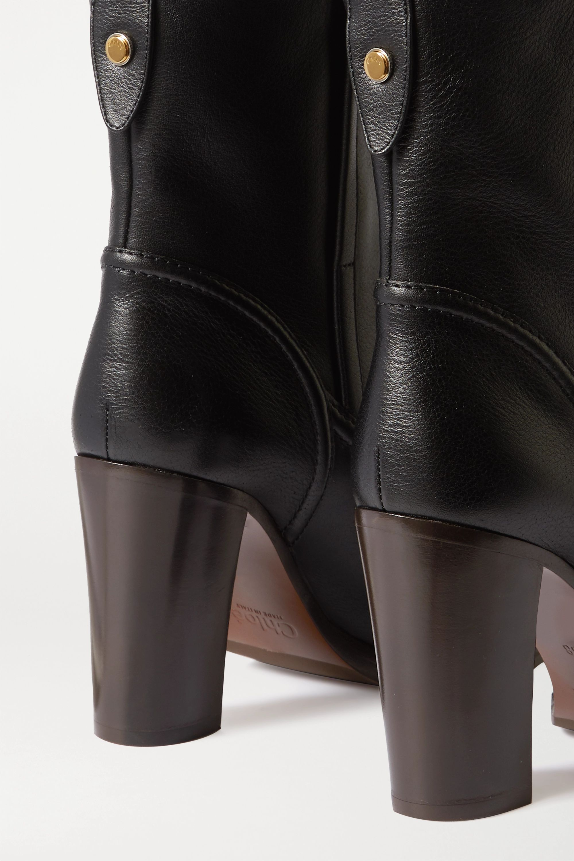 Chloé Emma leather ankle boots