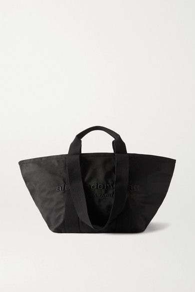 Alexander Wang - Primal Large Embroidered Canvas Tote