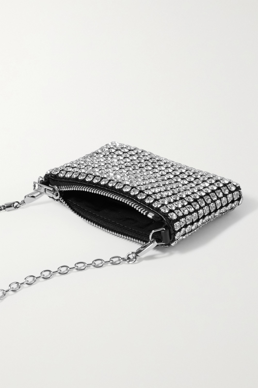 Alexander Wang Wangloc Nano crystal-embellished leather shoulder bag