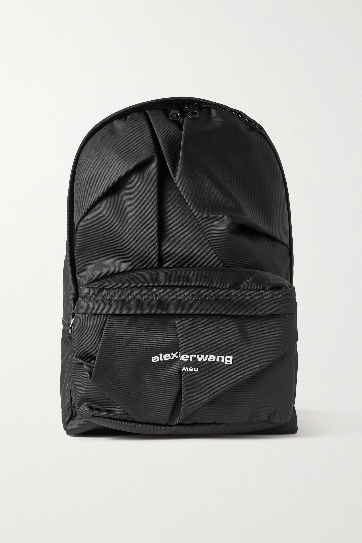 Alexander Wang Sac à dos en nylon imprimé à plis Wangsport
