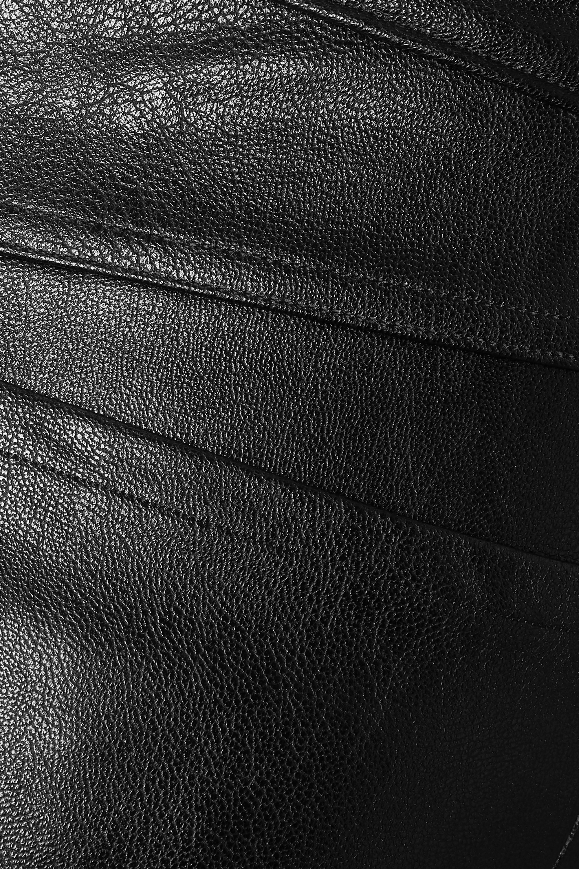 Spanx Like Leather faux stretch-leather pants