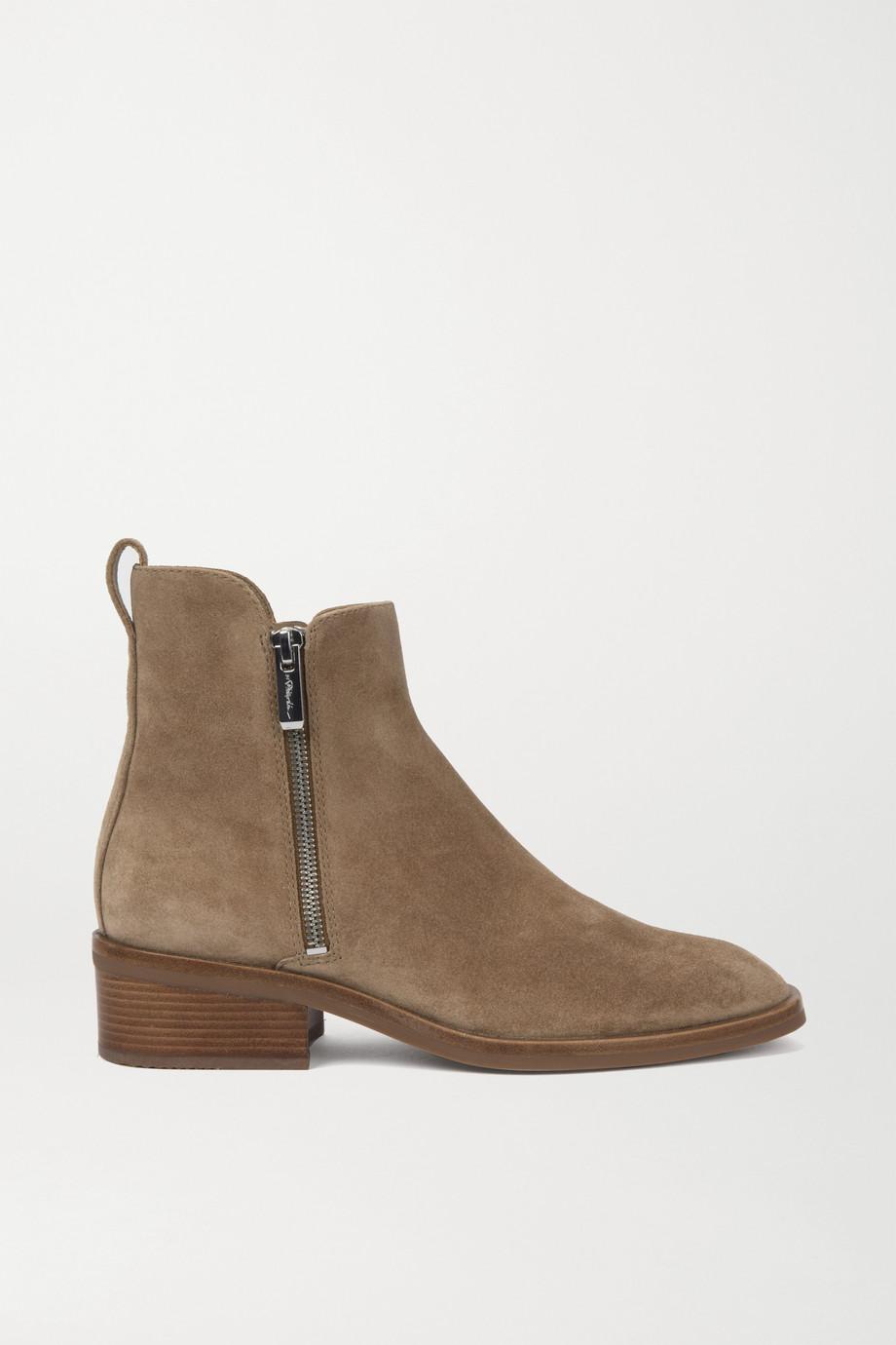 3.1 Phillip Lim Alexa 绒面革踝靴
