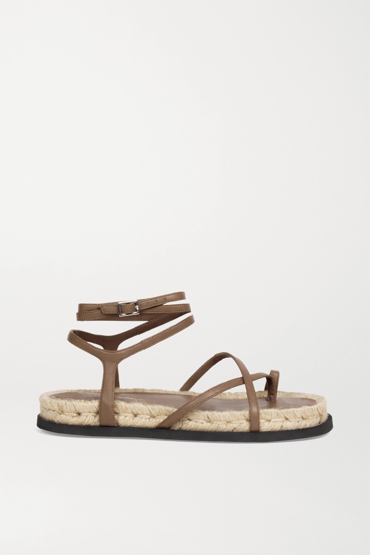 3.1 Phillip Lim Yasmine leather espadrille sandals