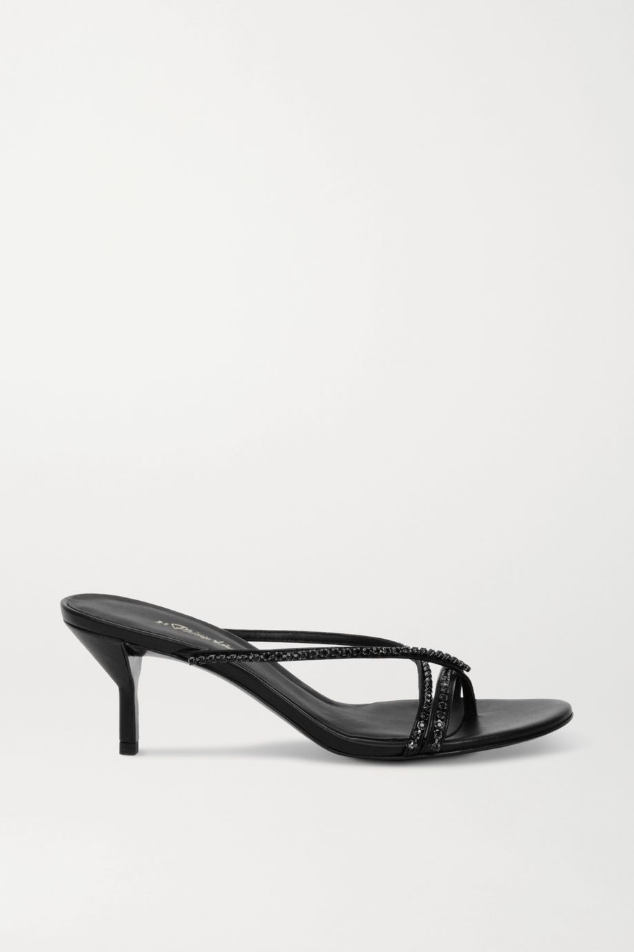 3.1 Phillip Lim Kiddie crystal-embellished leather sandals