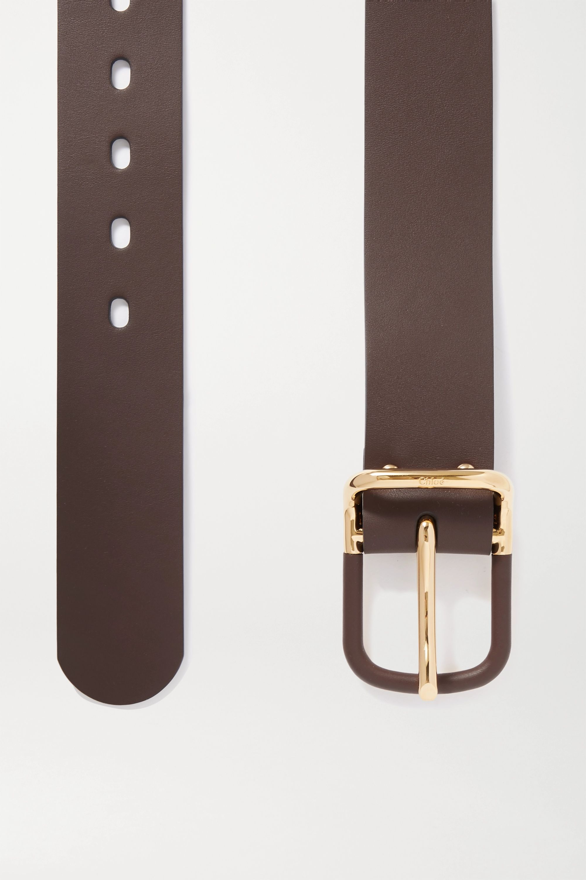 Chloé Drew leather belt