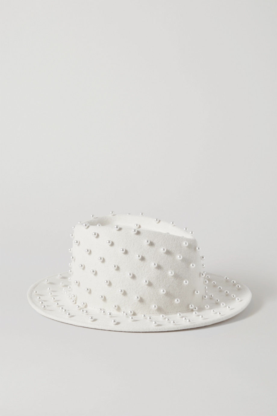 Eugenia Kim Walker embellished wool-felt fedora
