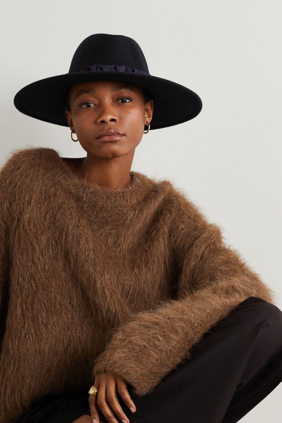 Eugenia Kim Harlowe 羊毛毡费多拉帽