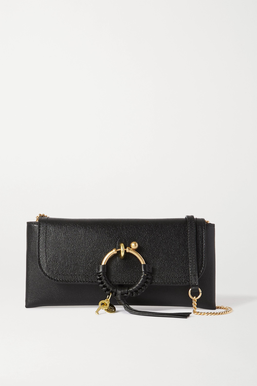 See By Chloé Sac porté épaule en cuir texturé Joan