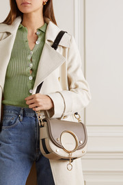 See By Chloé Mara two-tone leather shoulder bag