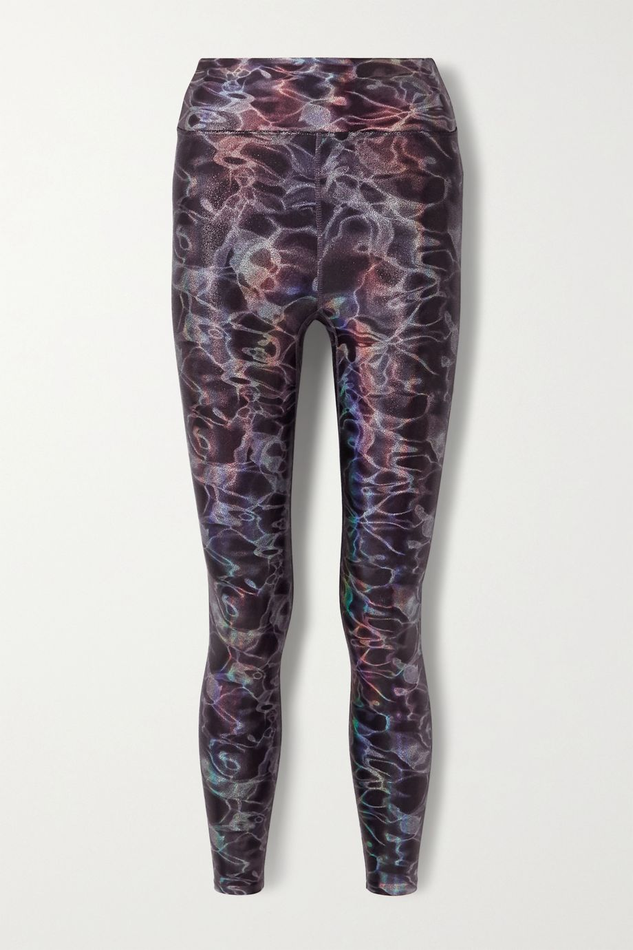 Heroine Sport Marvel metallic printed stretch leggings