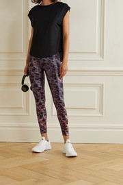 Heroine Sport Marvel metallic printed stretch leggings