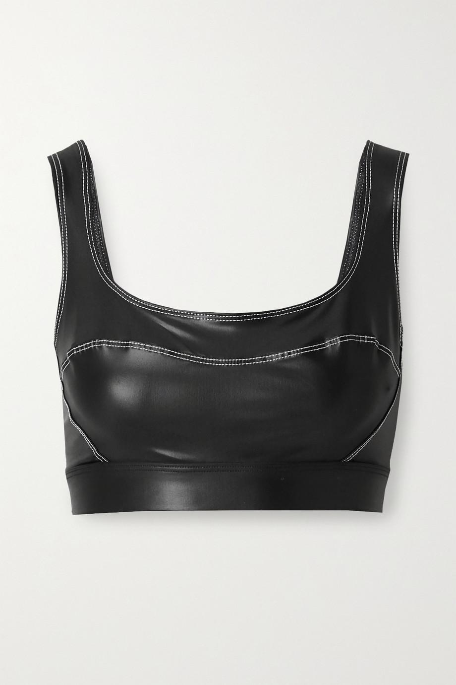 Heroine Sport Allure coated stretch sports bra