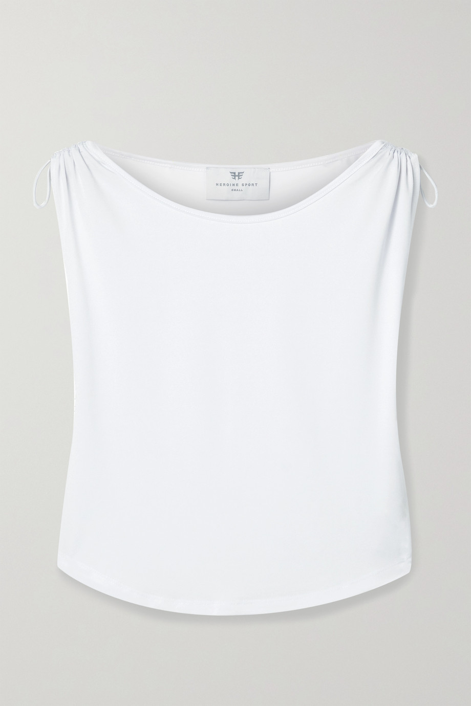 Heroine Sport Training ruched stretch tank