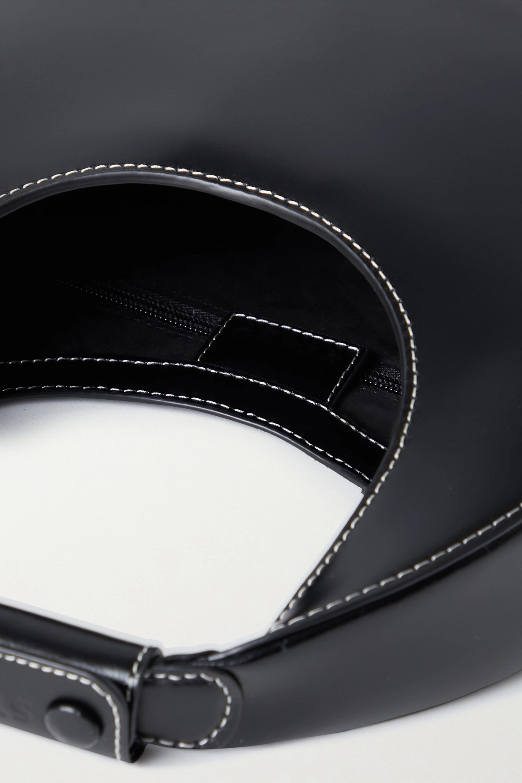 STAUD Moon mini leather tote