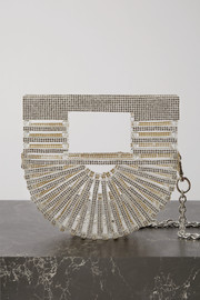 Cult Gaia Ark nano crystal-embellished acrylic shoulder bag