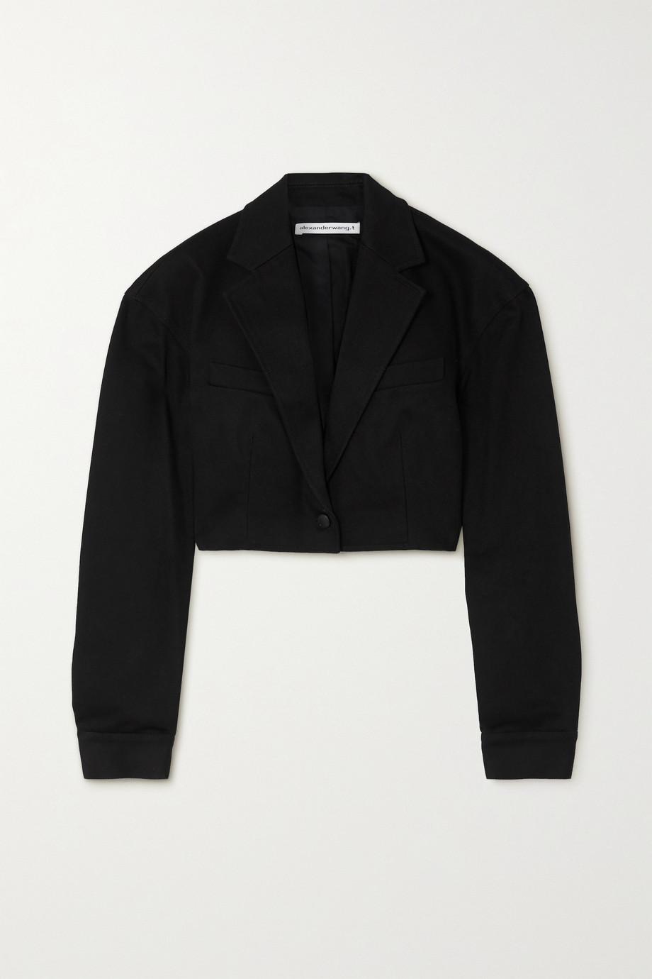 alexanderwang.t Cropped denim blazer