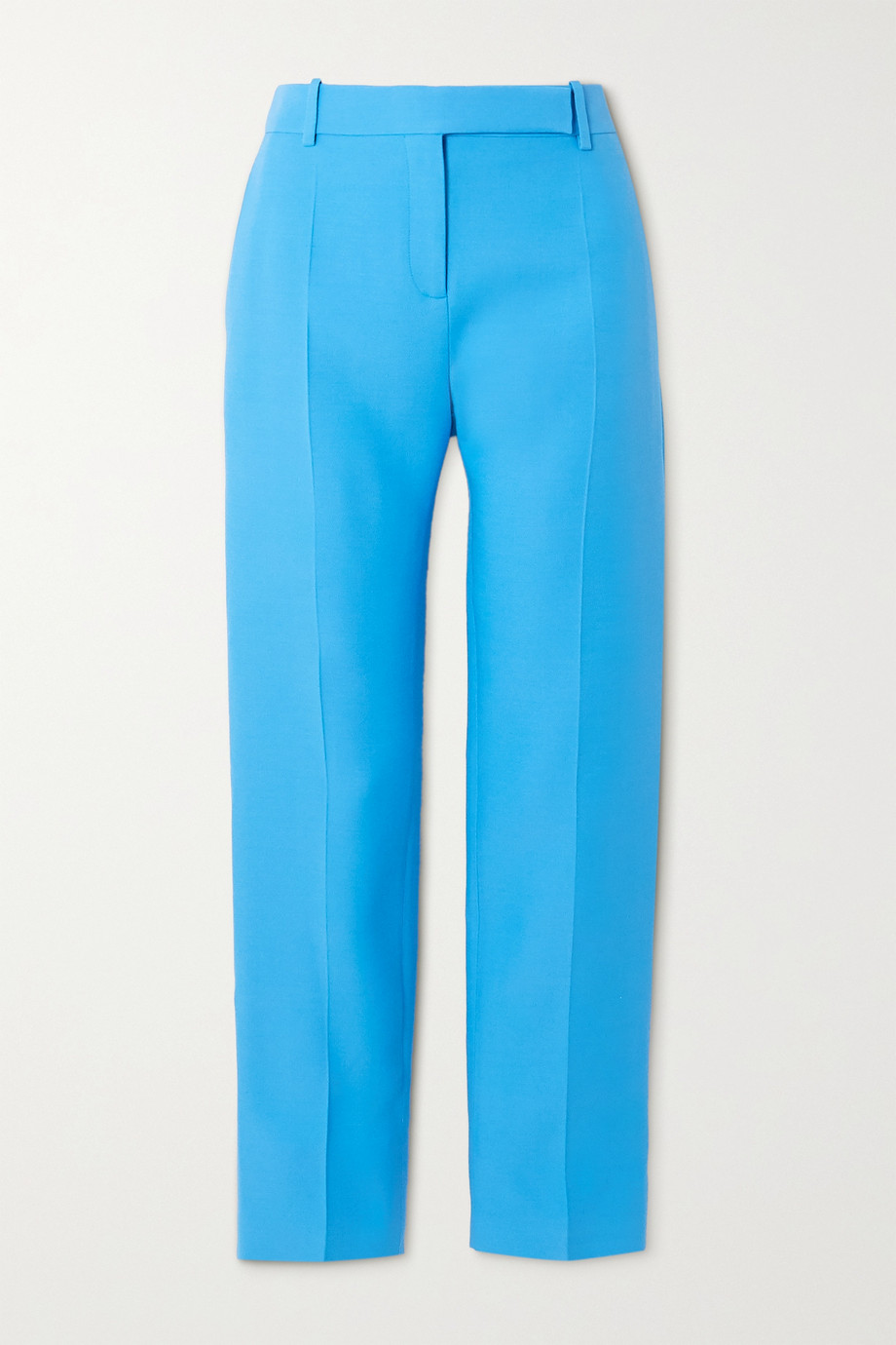 Valentino Wool and silk-blend slim-leg pants