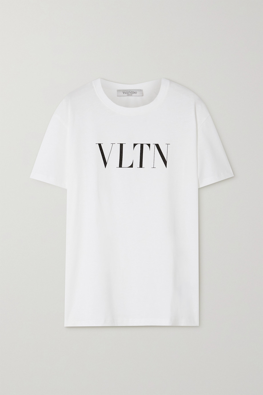 Valentino Printed cotton-jersey T-shirt
