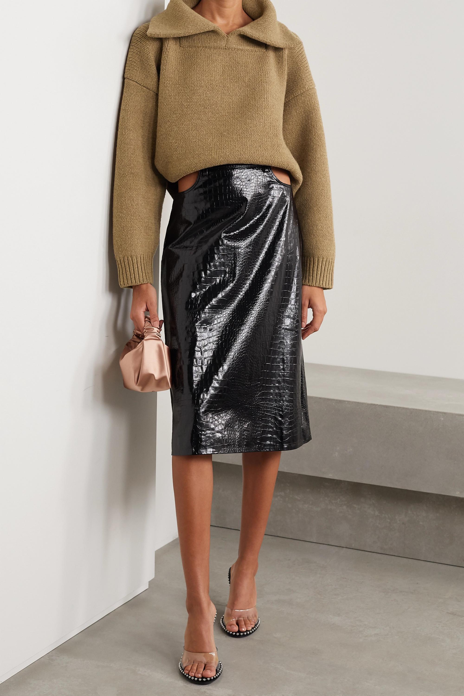 Alexander Wang Oversized wool-blend sweater