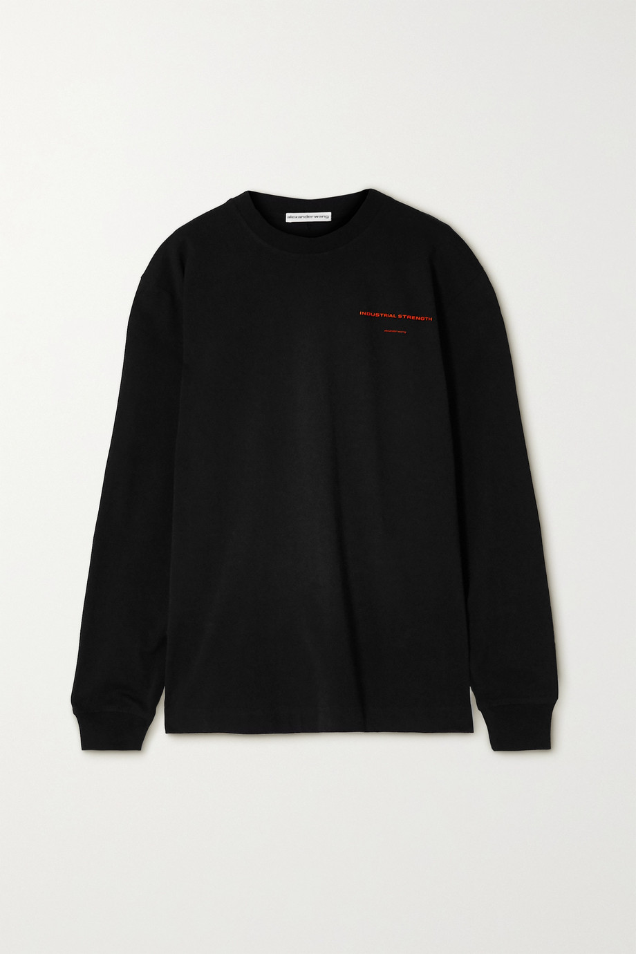Alexander Wang Oversized printed cotton-jersey sweatshirt
