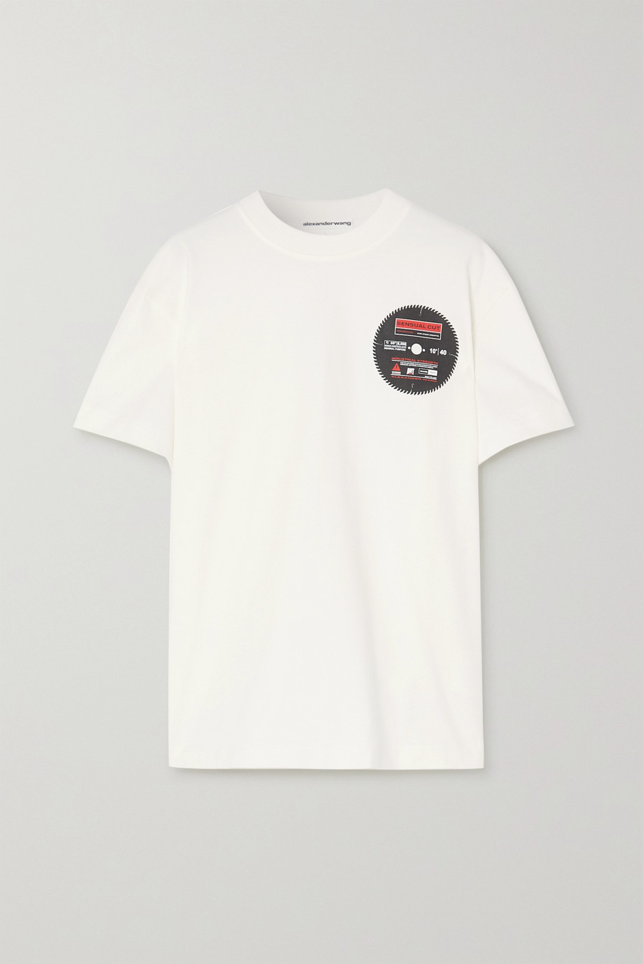 Alexander Wang T-shirt en jersey de coton imprimé