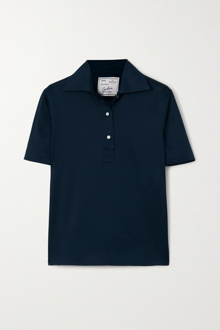 Giuliva Heritage Daphne Polohemd aus Baumwoll-Piqué