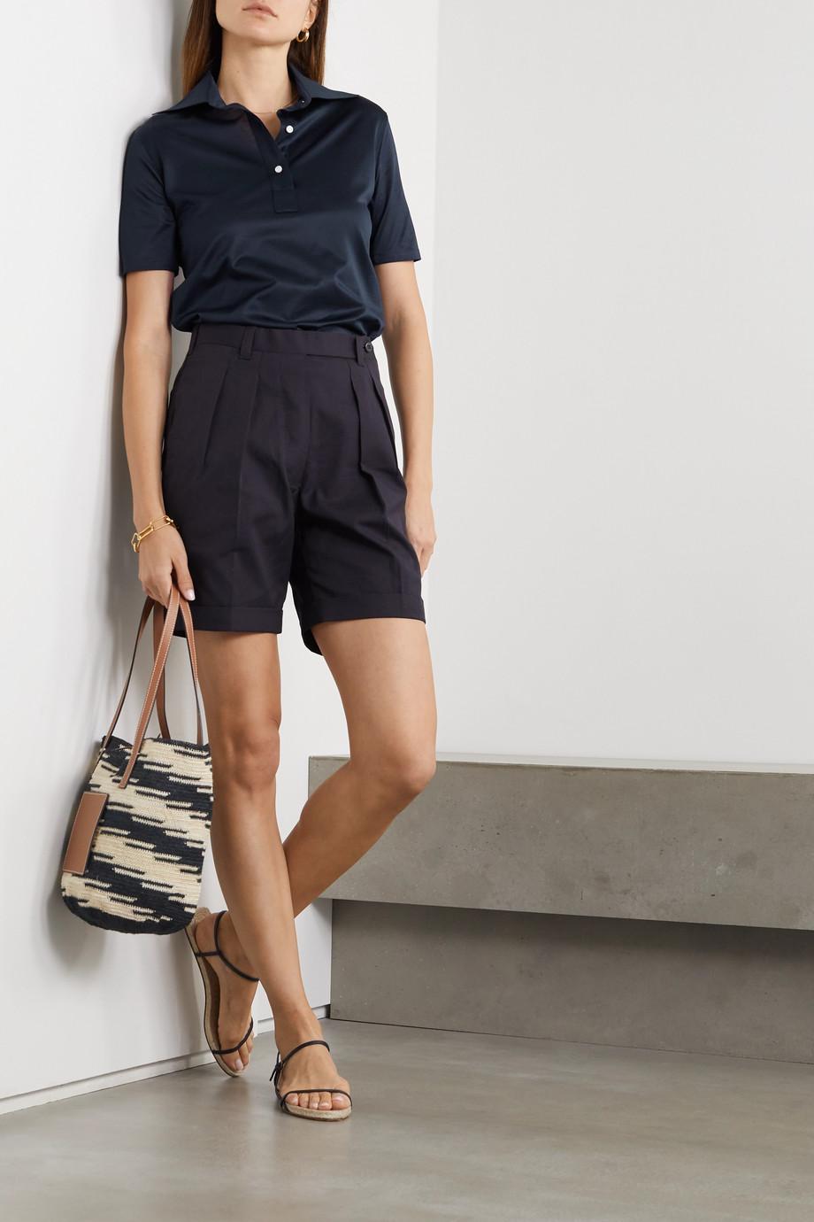 Giuliva Heritage Daphne cotton-piqué polo shirt